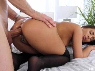 Asian big tits gangbang